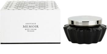 Amouage Memoir creme corporal para mulheres 200 ml