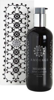 Amouage Memoir latte corpo per donna 300 ml