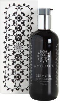 Amouage Memoir lotion corps pour femme 300 ml