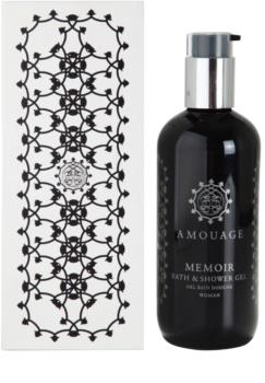 Amouage Memoir gel doccia per donna 300 ml