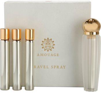 Amouage Reflection eau de parfum (1x rechargeable + 3x recharge) pour femme 4 x 10 ml