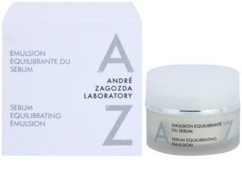 André Zagozda Face емульсія для обличчя, нормалізуюча  роботу сальних залоз для освітлення та зволоження