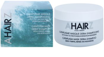 André Zagozda Hair Algae Therapy mélytisztítás és helyreállító maszk sampon formájában