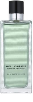 Angel Schlesser Esprit de Gingembre Eau de Toilette für Herren 150 ml