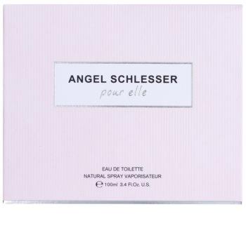 Angel Schlesser Pour Elle eau de toilette pour femme 100 ml