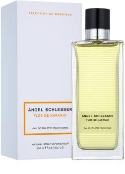 Angel Schlesser Flor de Naranjo Eau de Toilette für Damen 150 ml