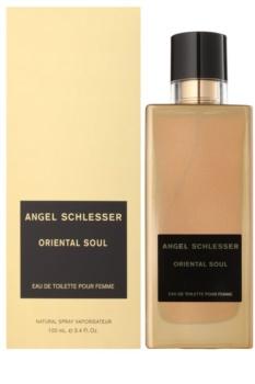 Angel Schlesser Oriental Soul Eau de Toilette para mulheres 100 ml