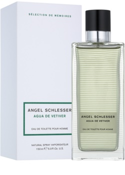 Angel Schlesser Agua de Vetiver Eau de Toilette for Men 150 ml