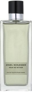 Angel Schlesser Agua de Vetiver Eau de Toilette für Herren 150 ml