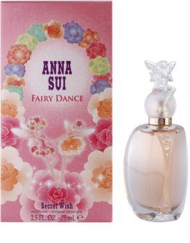 Anna Sui FairyDanceSecret Wish Eau de Toilette für Damen 75 ml