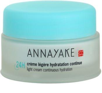 Annayake 24H Hydration crème légère pour un effet naturel