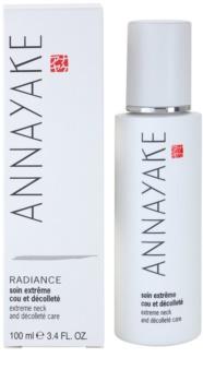 Annayake Extreme Line Radiance rozjasňující péče na krk a dekolt