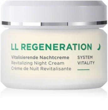 ANNEMARIE BÖRLIND LL Regeneration regeneráló éjszakai krém száraz bőrre