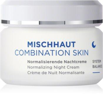 ANNEMARIE BÖRLIND Combination Skin normalizáló éjszakai krém