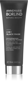 ANNEMARIE BÖRLIND Beauty Masks maszk 2 az 1-ben kombinált és zsíros bőrre