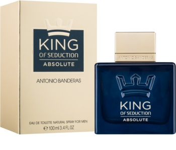 Antonio Banderas King of Seduction Absolute toaletná voda pre mužov 100 ml