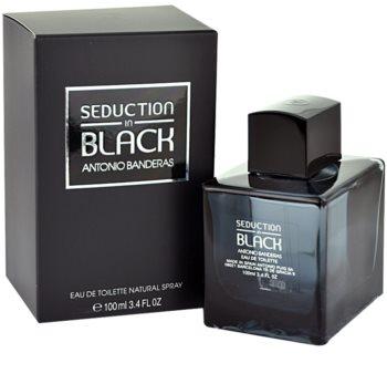 Antonio Banderas Seduction in Black toaletná voda tester pre mužov 100 ml
