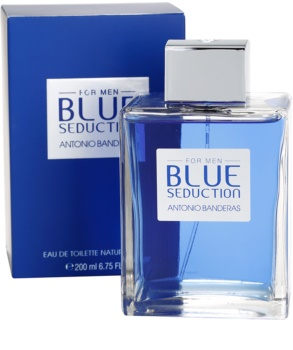 Antonio Banderas Blue Seduction Eau de Toilette Für Herren 100 ml