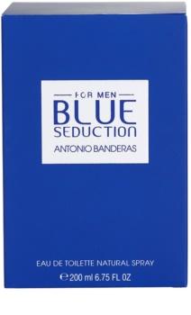 Antonio Banderas Blue Seduction eau de toilette pour homme 100 ml