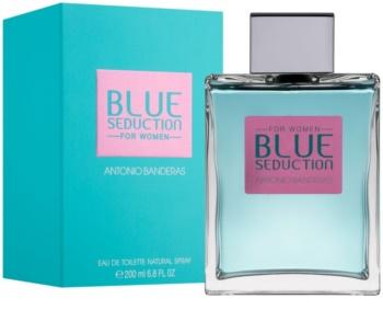 Antonio Banderas Blue Seduction Eau de Toillete για γυναίκες 200 μλ