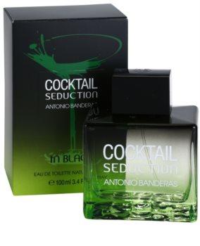 Antonio Banderas Cocktail Seduction Black eau de toilette per uomo 100 ml