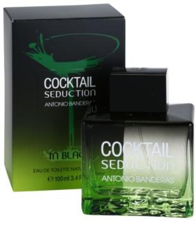 Antonio Banderas Cocktail Seduction In Black eau de toilette per uomo 100 ml