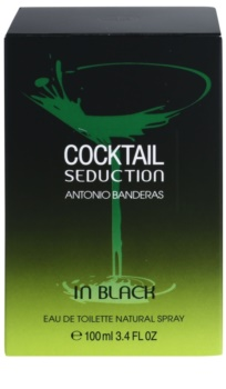 Antonio Banderas Cocktail Seduction In Black Eau de Toilette for Men 100 ml