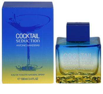 Antonio Banderas Cocktail Seduction Blue eau de toilette pour homme