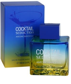 Antonio Banderas Cocktail Seduction Blue Eau de Toilette voor Mannen 100 ml