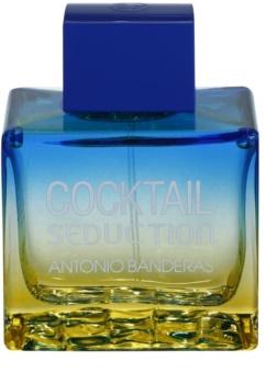Antonio Banderas Cocktail Seduction Blue eau de toilette pour homme 100 ml