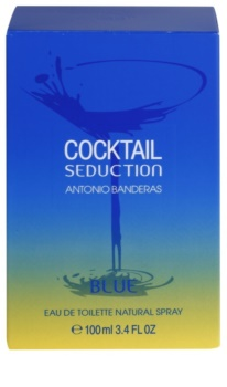Antonio Banderas Cocktail Seduction Blue eau de toilette per uomo 100 ml