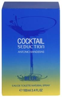 Antonio Banderas Cocktail Seduction Blue Eau de Toillete για άνδρες 100 μλ