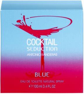 Antonio Banderas Cocktail Seduction Blue Eau de Toilette Für Damen 100 ml