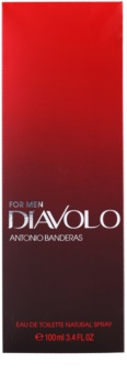 Antonio Banderas Diavolo eau de toilette per uomo 100 ml
