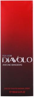 Antonio Banderas Diavolo Eau de Toillete για άνδρες 100 μλ