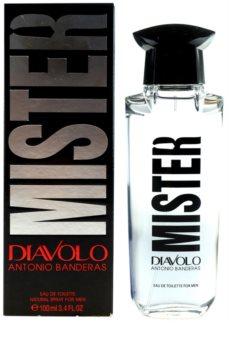 Antonio Banderas Diavolo Mister Eau de Toilette voor Mannen 100 ml