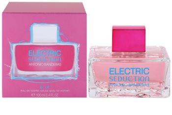 Antonio Banderas Electric Blue Seduction toaletní voda pro ženy 100 ml