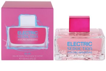 Antonio Banderas Electric Seduction Blue Eau de Toilette für Damen 100 ml