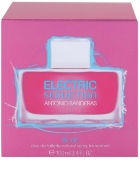 Antonio Banderas Electric Blue Seduction eau de toilette pentru femei 100 ml