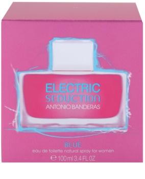 Antonio Banderas Electric Blue Seduction eau de toilette pour femme 100 ml