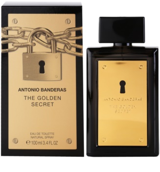 Antonio Banderas The Golden Secret Eau de Toilette Für Herren 100 ml
