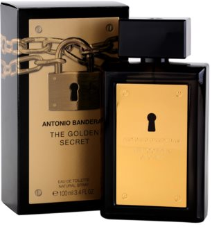 Antonio Banderas The Golden Secret eau de toilette pour homme 100 ml