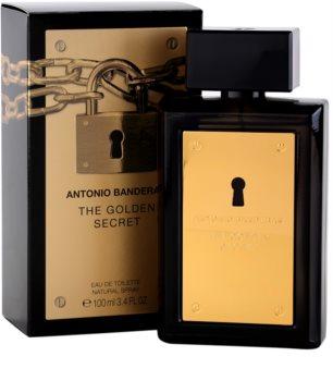 Antonio Banderas The Golden Secret eau de toilette pour homme 100 ml