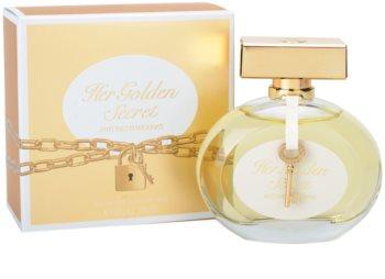 Antonio Banderas Her Golden Secret Eau de Toillete για γυναίκες 80 μλ