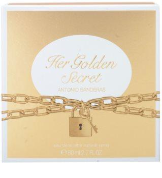 Antonio Banderas Her Golden Secret Eau de Toilette Damen 80 ml