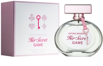 Antonio Banderas Her Secret Game Eau de Toilette voor Vrouwen  80 ml