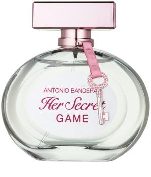 Antonio Banderas Her Secret Game Eau de Toillete για γυναίκες 80 μλ