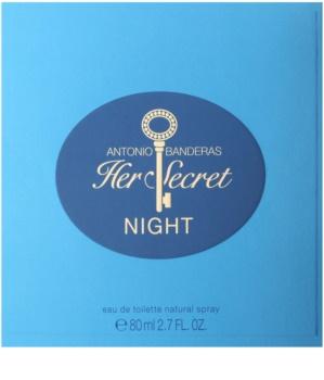 Antonio Banderas Her Secret Night toaletna voda za ženske 80 ml