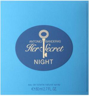 Antonio Banderas Her Secret Night woda toaletowa dla kobiet 80 ml
