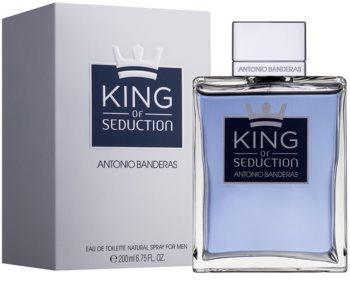 Antonio Banderas King of Seduction Eau de Toilette para homens 200 ml